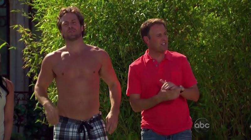 Craig McKinnon, David Good, and Juan Barbieri Shirtless on Bachelor Pad s1e01