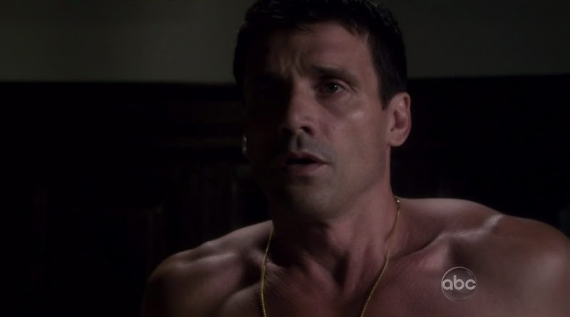 Frank Grillo Shirtless on The Gates s1e07