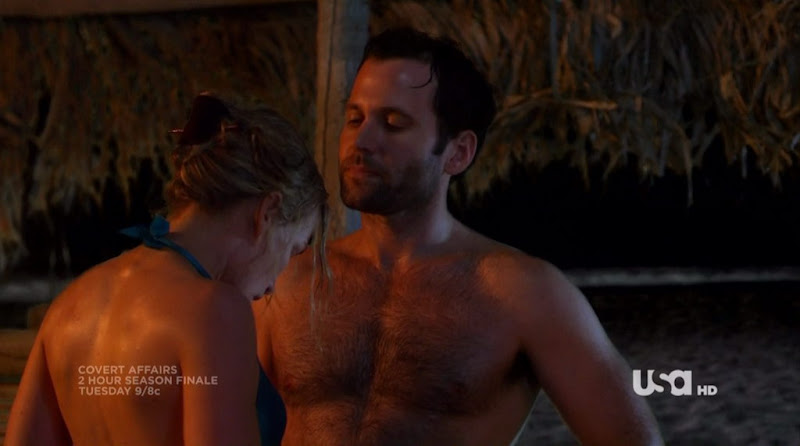Channing Tatum Ion >> MAN INSPIRATION *: Eion Bailey on Covert Affairs s1e09