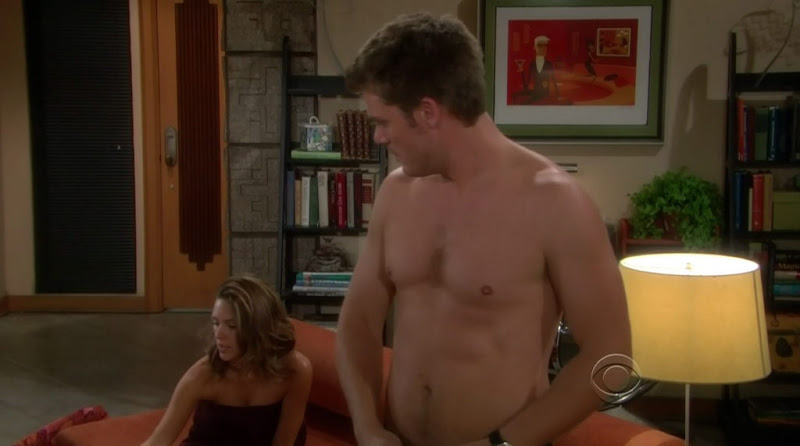Jeff Branson Shirtless on Young and the Restless 20100903