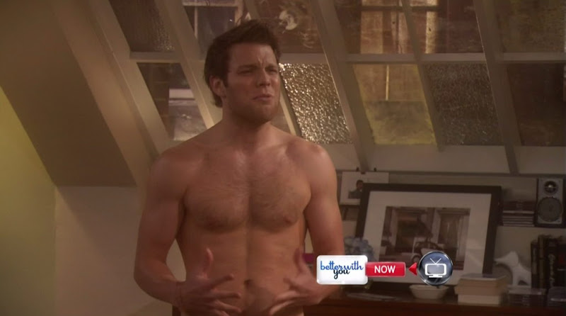 Jake Lacy Shirtless on Better With You s1e04