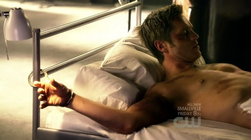 Devon Sawa Shirtless on Nikita s1e07