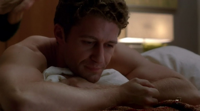 Matthew Morrison Shirtless on Glee s2e07