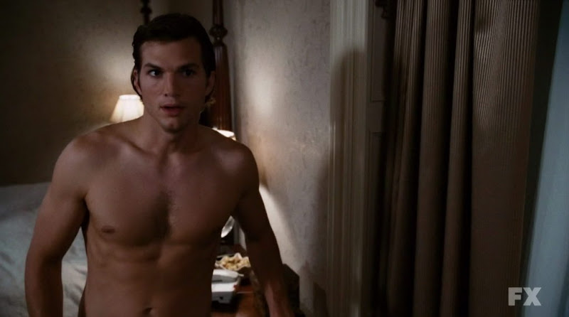 Ashton Kutcher Shirtless in What Happens in Vegas