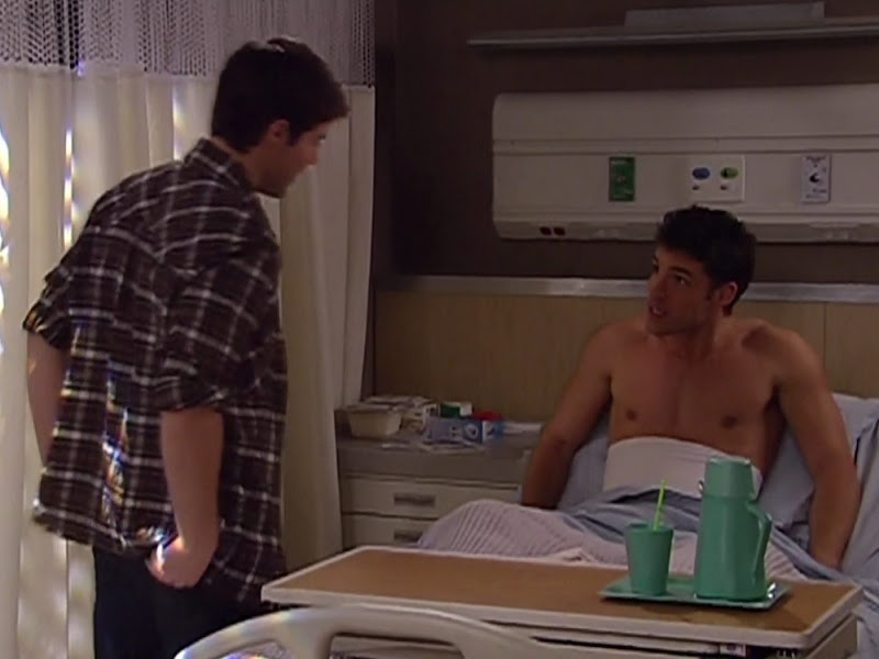 David A. Gregory Shirtless on One Life To Live 20101104