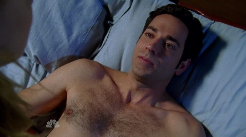 Zachary Levi Shirtless on Chuck s4e09