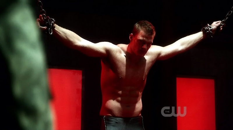 Alan Ritchson Shirtless on Smallville s10e09