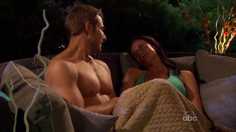 Brad Womack Shirtless on The Bachelor s15e03