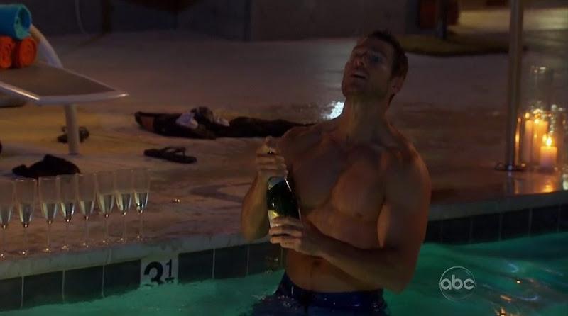 Brad Womack Shirtless on The Bachelor s15e03