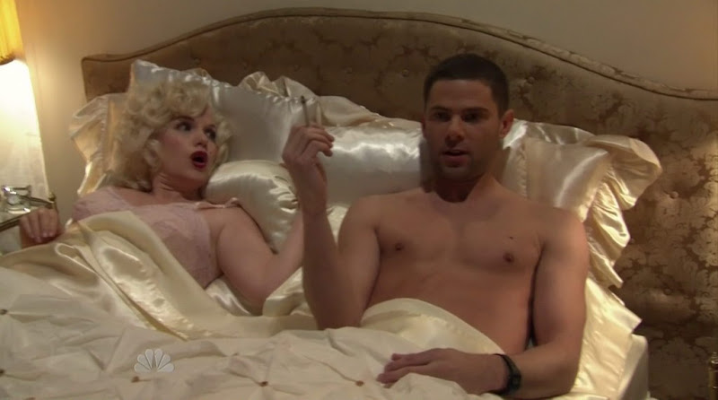 Mikey Day Shirtless on Tonight Show With Jay Leno 20110127