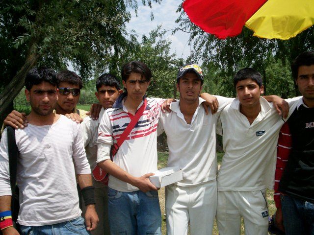 Match on 11th July, 2009 at Iqbal Stadium, Pampore