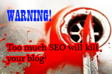 too much SEO - black hat SEO practice
