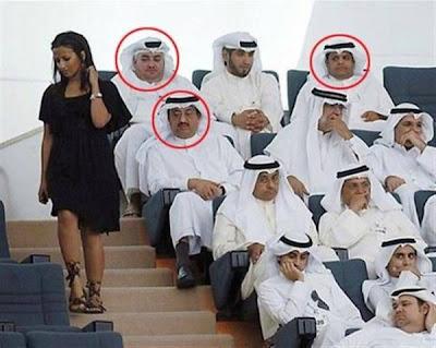 Gambar lucu orang arab hidung belang