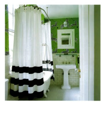 Lime Green and Aqua Bathroom? | Outhouse Bathroom Decor