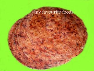 vegetable-chappathi