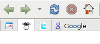 Resize the Tabs in Firefox to its Favicons size