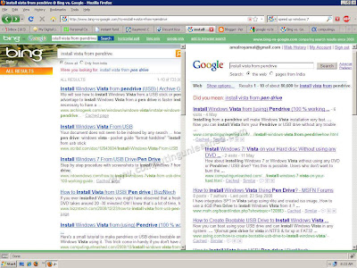 How to Search in Google and Bing at Same Time (together)