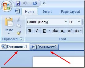 Get Tab Feature in Microsoft Office with OfficeTab