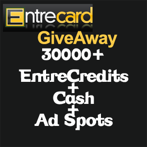 entrecard giveaway Entrecard Contest at Blog Godown