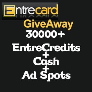 Entrecard Giveaway