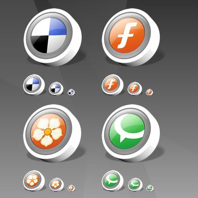 WebDev Social Bookmarking Icons