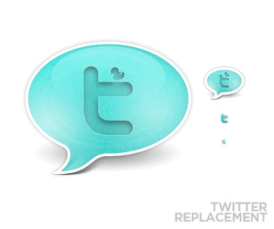 Twitter Replacement icons by wurstgott 350+ Fresh Twitter Icons