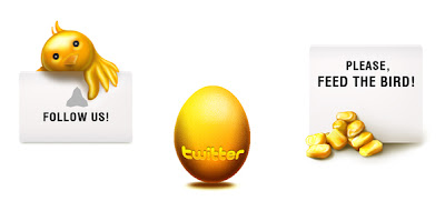 gold and handrawn twitter icons 350+ Fresh Twitter Icons