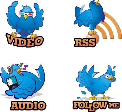 Twiitgeans Hand Drawn Twitter Icons 350+ Fresh Twitter Icons