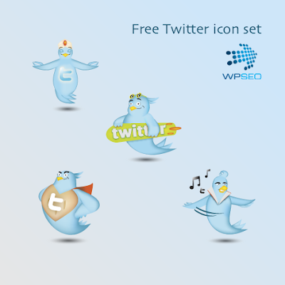 twitter icon set superman elvis surfer meditation 350+ Fresh Twitter Icons