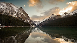 Lake Louise Nature Wallpaper