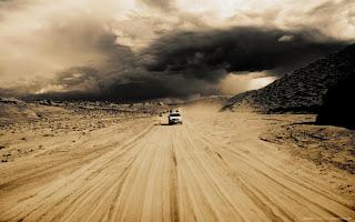 Desert Run Nature Wallpaper
