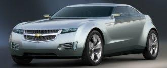 Chevy Volt concept model