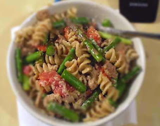 Whole Wheat Pasta with Asparagus and Turkey Sausage: A Recipe for ...