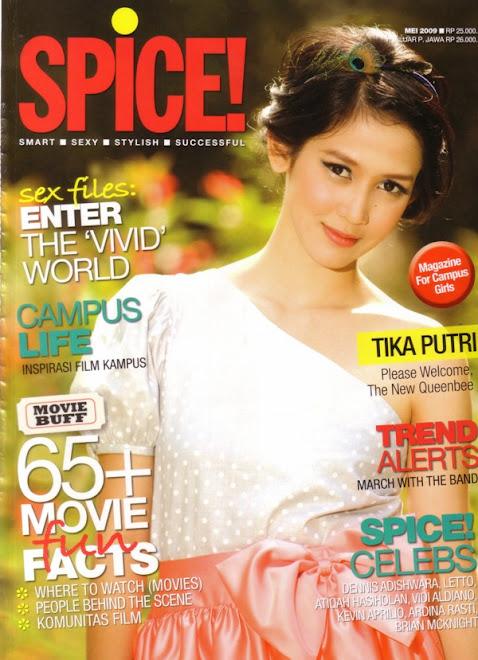 tika putri for spice magazine