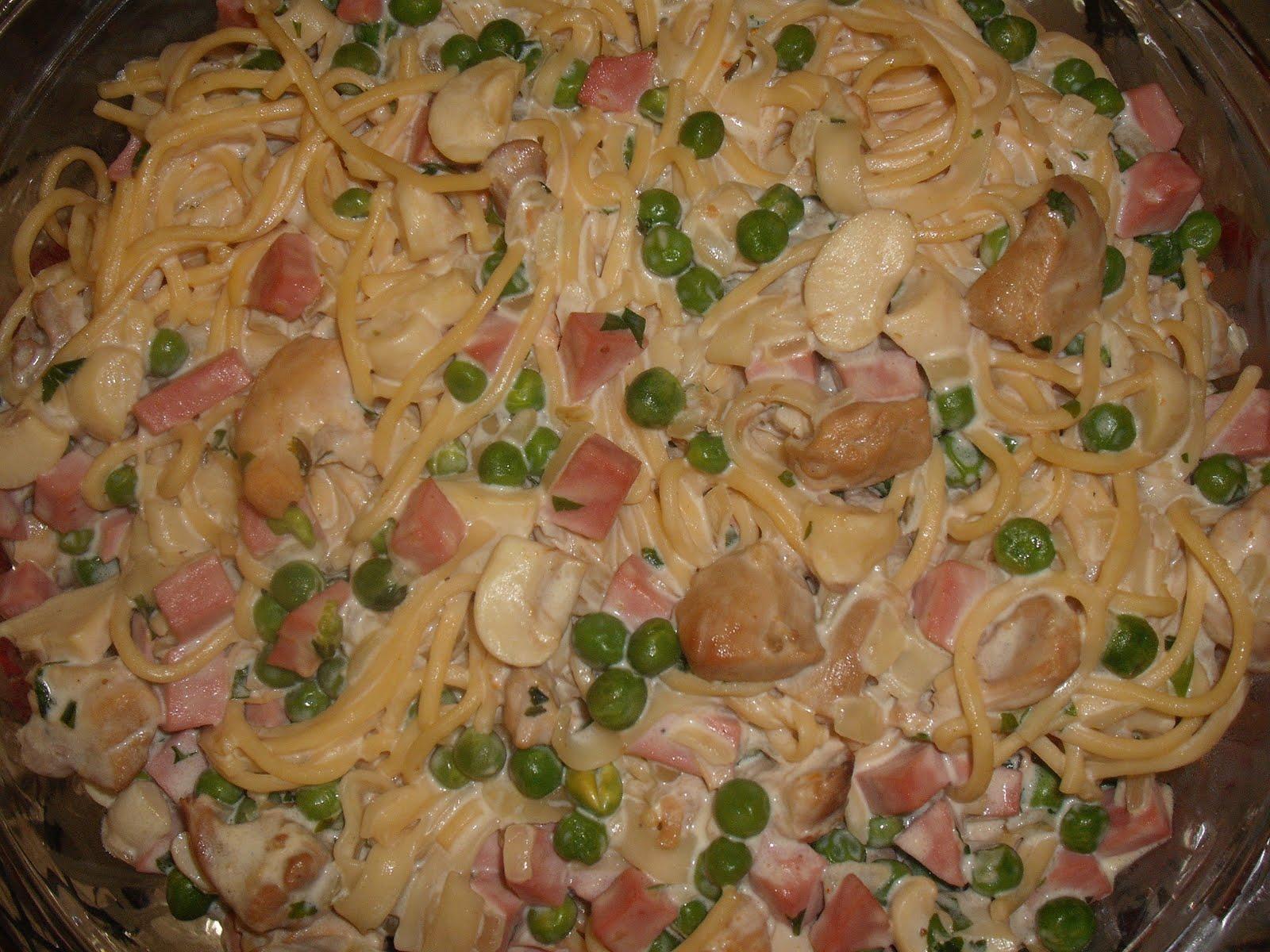 Cad a receita espaguete francesa for Tipos de comida francesa