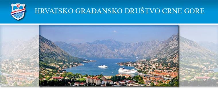 KRONIKA Hrvatskog Gradjanskog Društva Crne Gore www.Hrvati.me