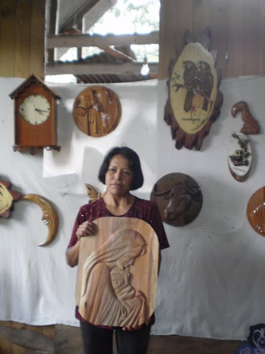 Artesanias: Tallados en madera