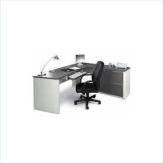 Bestar Connexion Home Office Corner Computer Desk