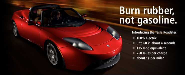 tesla roadster Top Gear Tesla Roadster. IBRAHIM test the first eco sport car ever made!