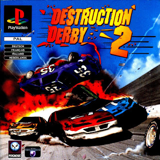 capa Destruction Derby 2 | PS1 | NTSC