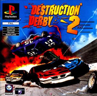 capa Destruction Derby 2   PS1   NTSC