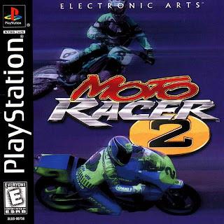 capa Moto Racer 2   PS1