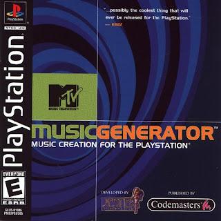 MTV+Music+Generator MTV Music Generator | PS1 | NTSC
