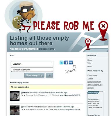PleaseRobMe.Com, Tips Aman di Facebook