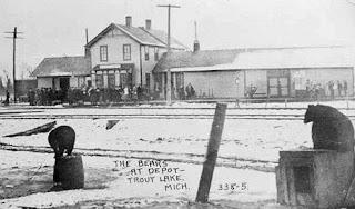 Trout Lake Depot Historic View