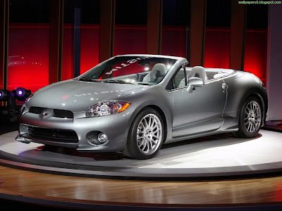 Mitsubishi Eclipse Spyder Standard Resolution Wallpaper 2