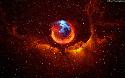 Firefox Space Standard Resolution Wallpaper