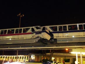 Disney Monorail Accident