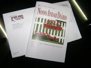 Brinde Gratis Livro Nossoa Andar Diário