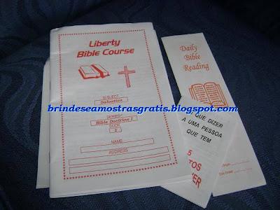 Brinde Gratis Livro de Estudo Bíblico